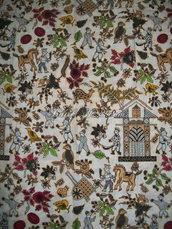 Batik Kompeni, Motif Kolonial Belanda [KCBT351]