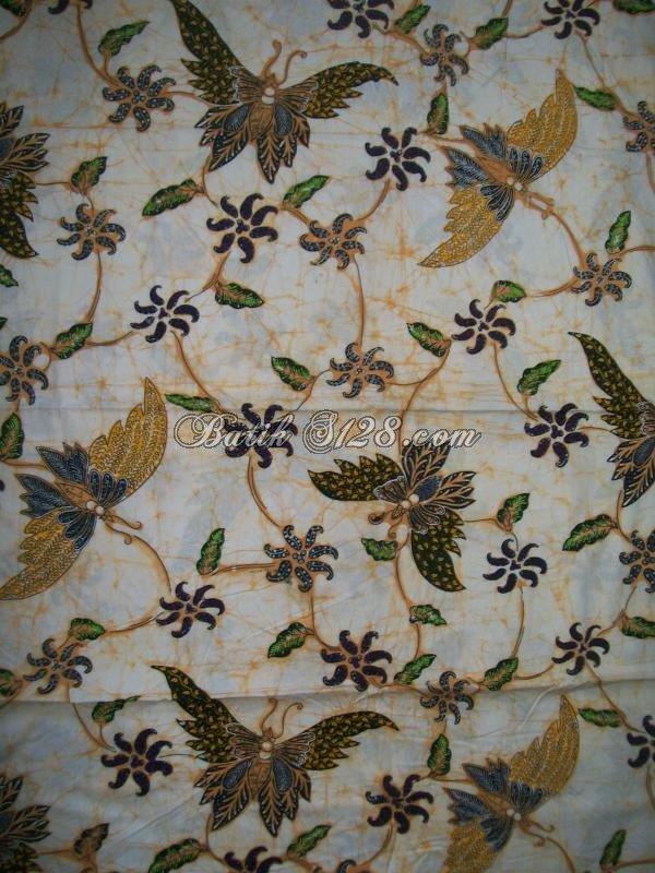 Batik Cabut Tulis Kombinasi Tolet, Varian Batik Kompeni [KCBT352]