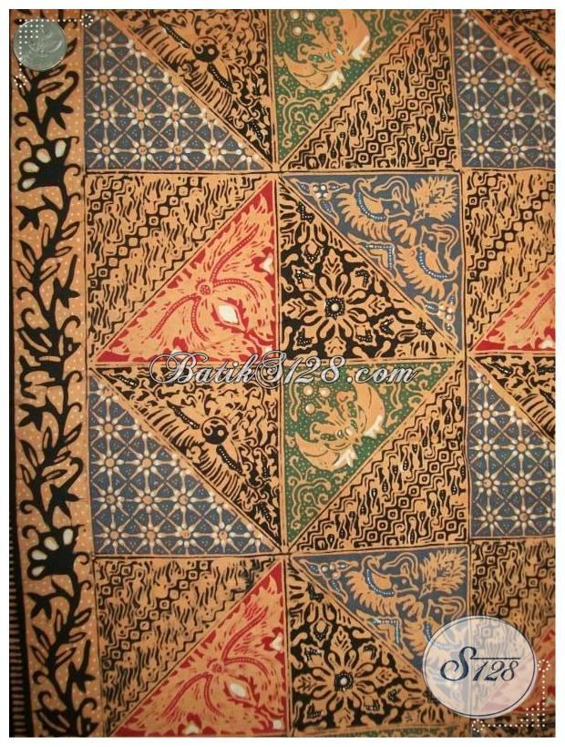 Bahan Batik Cantik Dan Motif Elegant Asli Dari Batik Jawa Di Indonesia [KCT602]