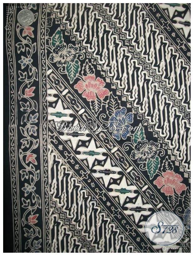 Bahan Batik Untuk Busana Batik Kerja Wanita,Bahan Batik Blus Lengan Panjang [KCT614]