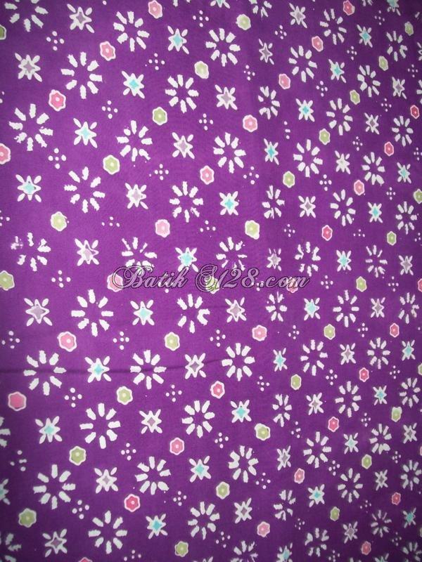 Jual Bahan Busana Batik Motif Truntum Asli Solo,Batik Kontemporer [KCTO289]