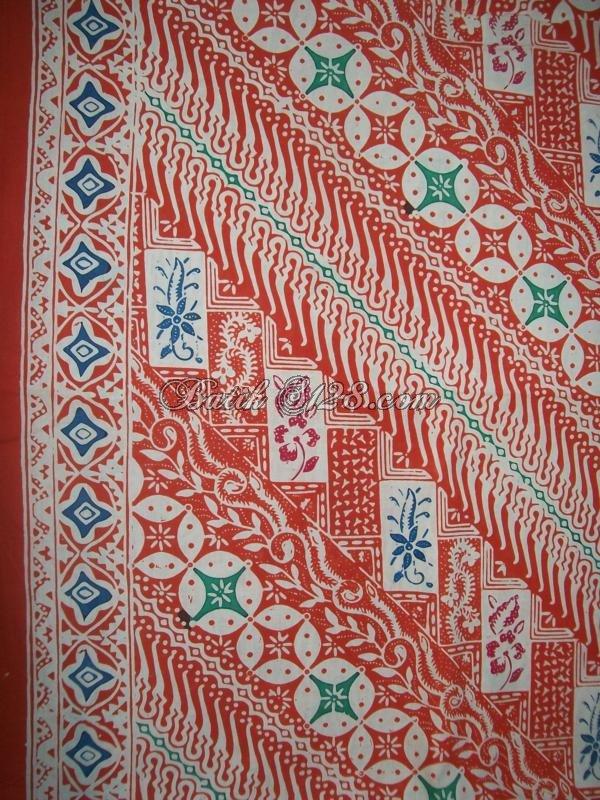 Harga Murah Kain Batik Asli Solo Yang Dijual di Thamrin City [KCTO302]