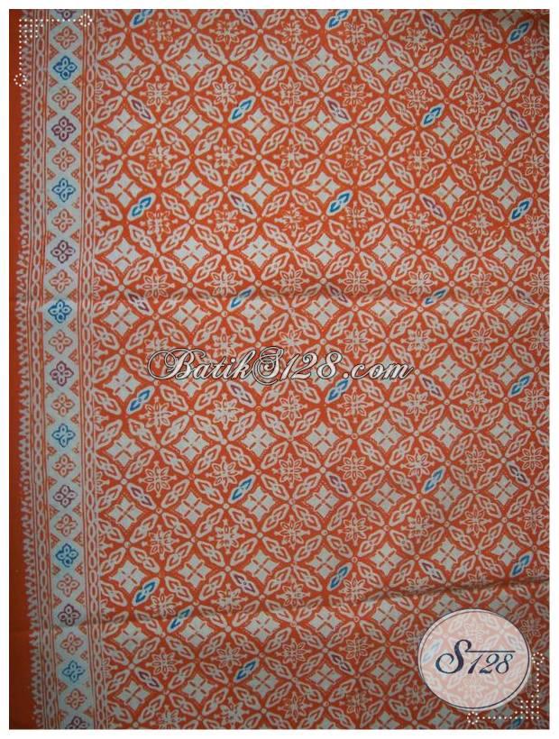 Kain Batik Solo Motif Bagus Warna Keren Bahan Busana Harga Terjangkau