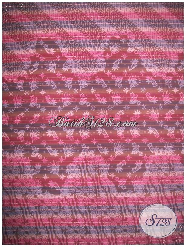 Jual Kain Batik Lurik Dengan Harga Murah [KL493]