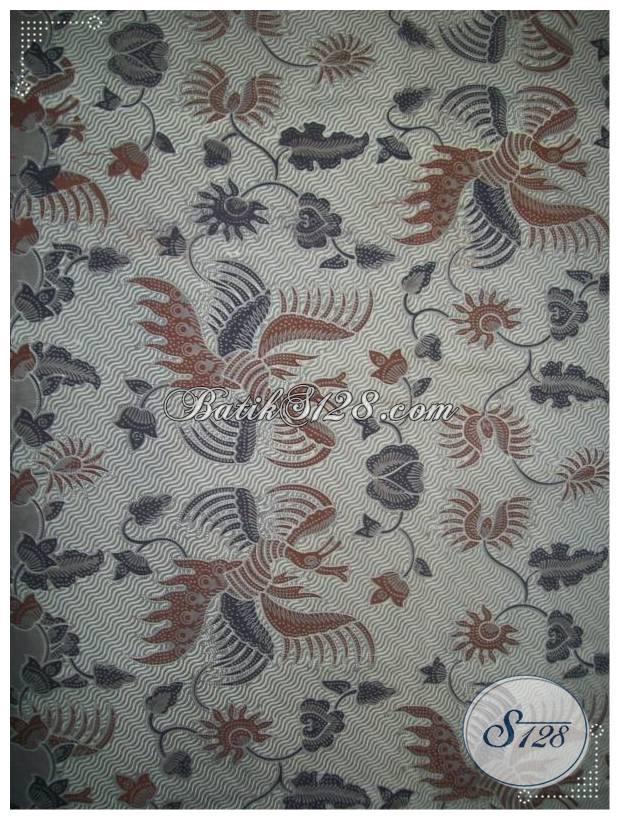 Bahan Batik Murah Untuk Blus Batik Wanita Modern [KP411]