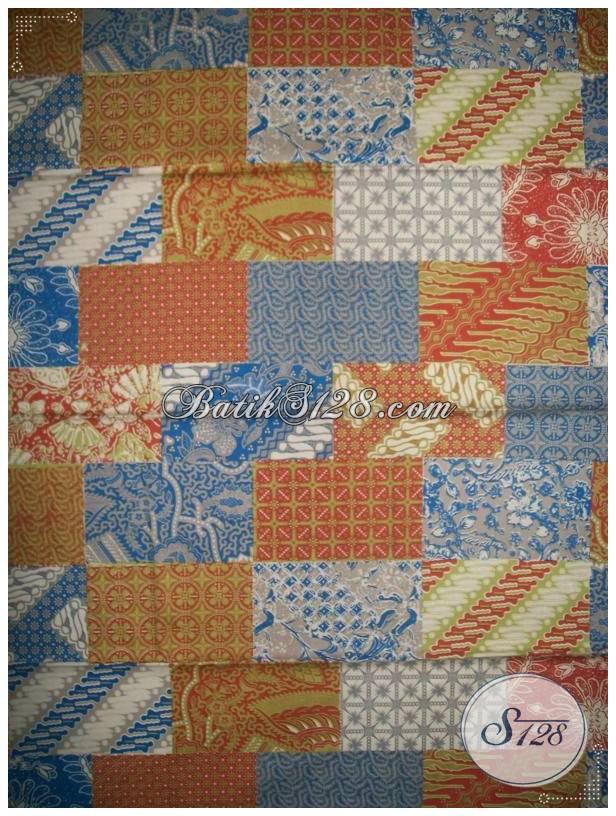 Bahan Batik MOtif Tambal,Untuk Busana Batik Fashion [KP489]