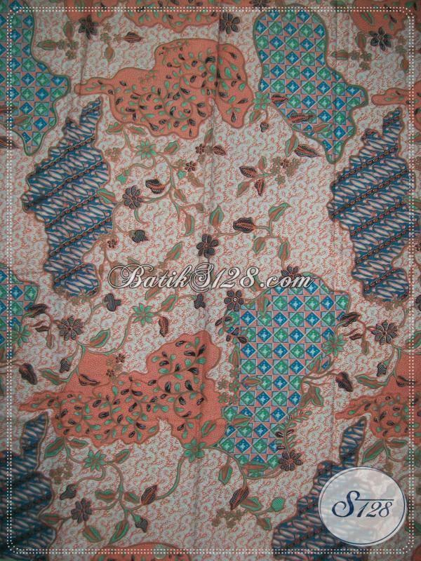 Kain Batik Untuk Baju Kerja Wanita Trendy Dan Exclusive [KP551]