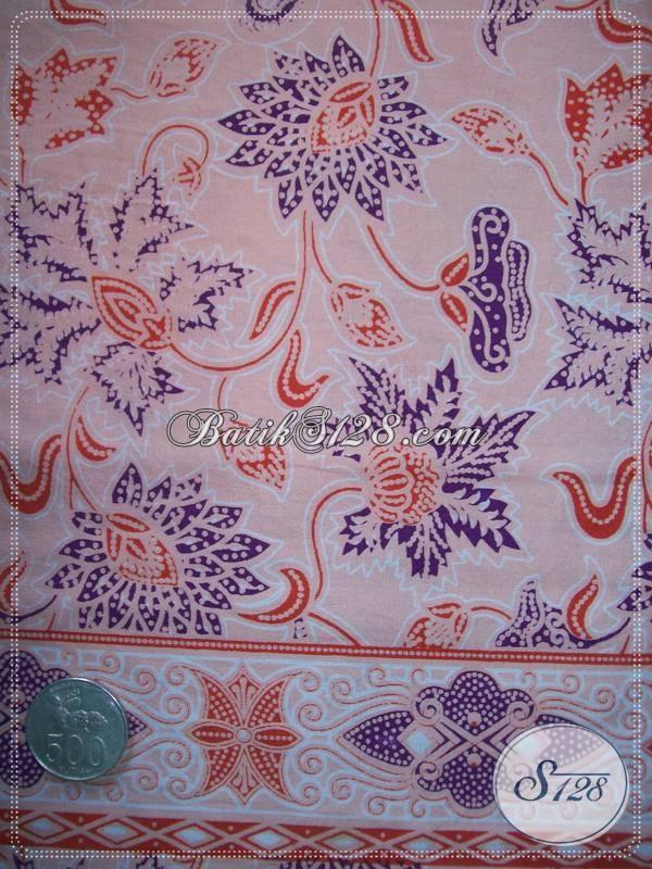Bahan Batik Baju Kerja,Berkwalitas Dan Bermotif Halus [KP556]