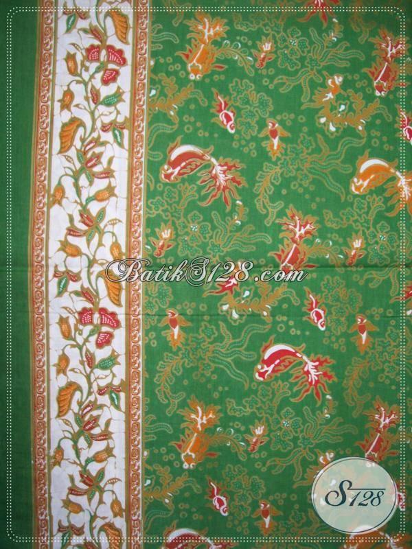 Bahan Batik Cantik Untuk Busana Batik Kerja Wanita Aktif [KP569]
