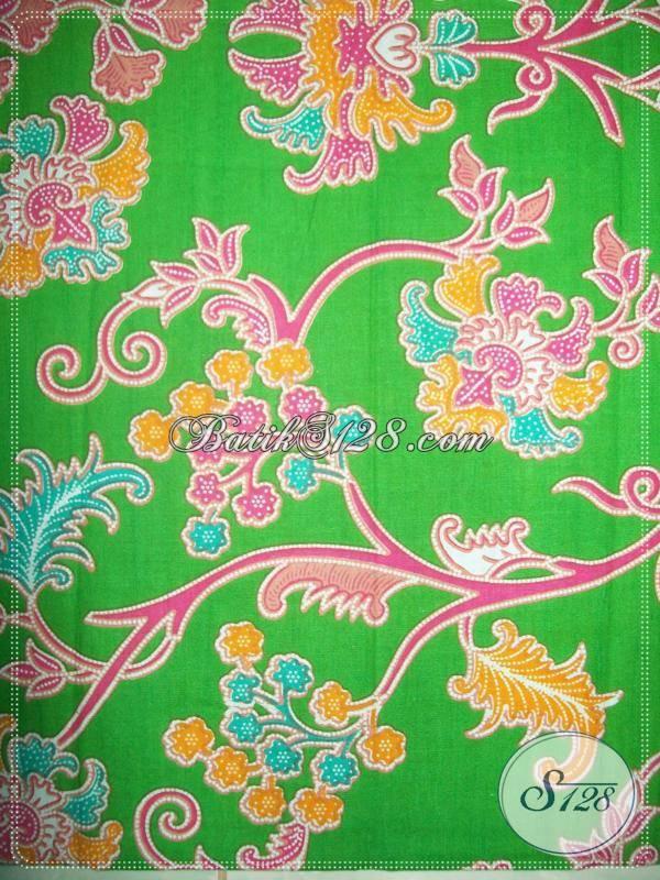 Kain Batik Elegant Untuk Baju Batik Elegant [KP631]
