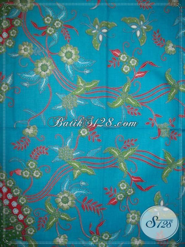 Kain Batik Trendy,Batik Bertompal Yang Elegant [KP638]