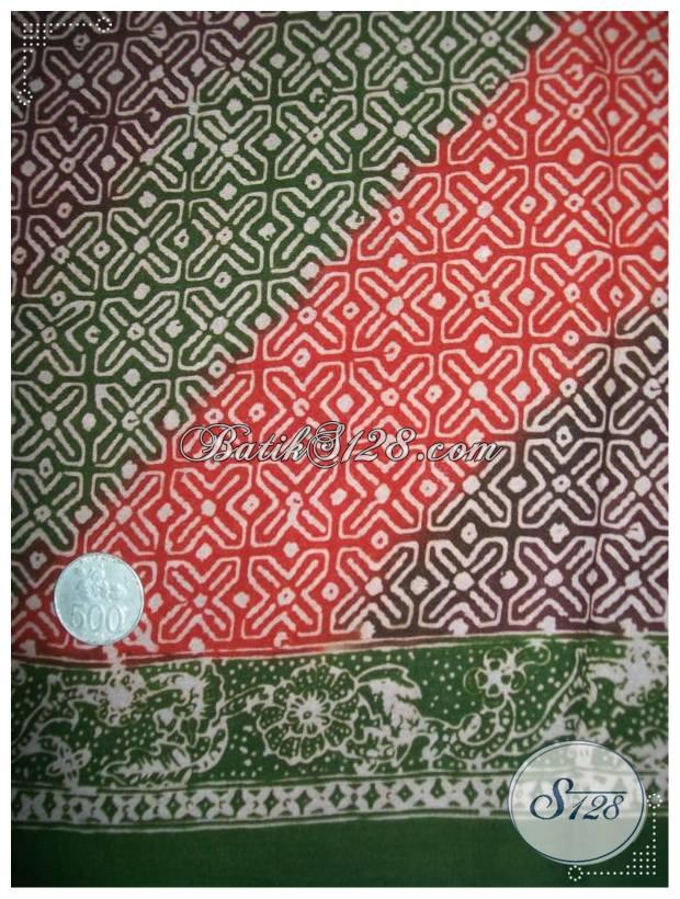 Batik Kain Batik Berbahan Halus Dan Adem, Kain Batik Bahan Busana Pria Wanita Harga Terjangkau