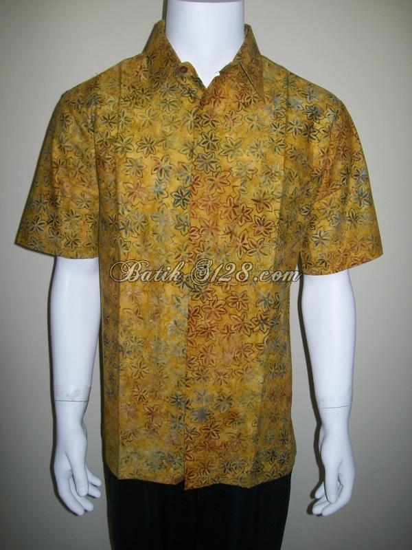 Baju Batik Pria Modern Batik Kerja Kantor Batik Tulis