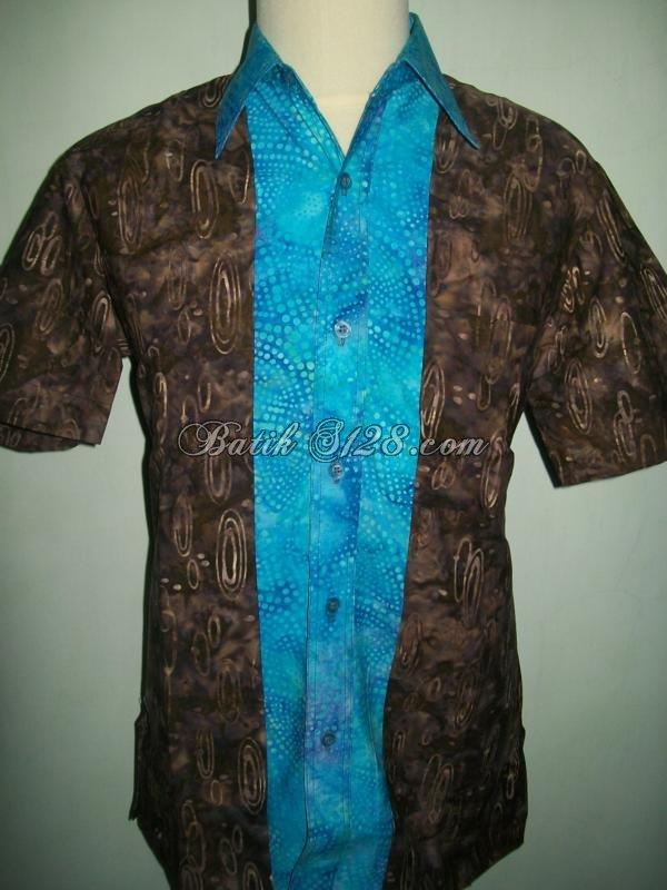Baju Batik Pria Modern Eksklusif Murah Gaul Terbaru Online  LD057 ... afeeefbb83