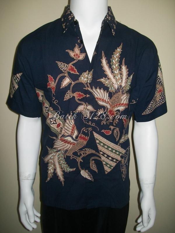 Baju Batik Tulis Ukuran M Kemeja Pria Ld116t Toko