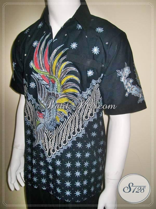 Pakaian Batik Pria Motif Modern