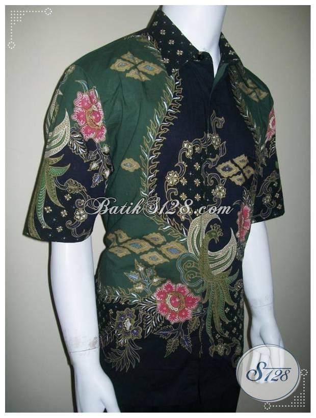 Kemeja Batik Exclusive Elegan Untuk Pria Eksekutif, Batik Tulis Eksklusif [LD161T]