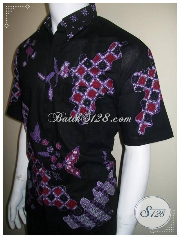 Kemeja Batik Tulis Pria Keren, Hem Batik Modern [LD173T]