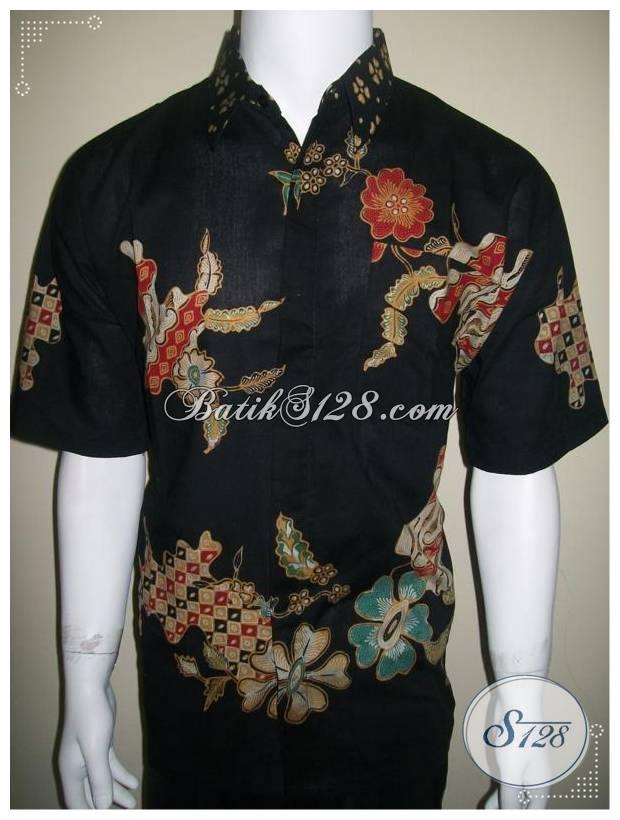 Model Kemeja Batik Tulis Terbaru, Harga Murah, Corak Bagus Sekali [LD184T]