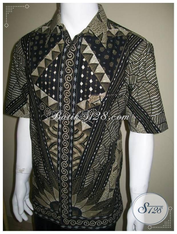 Baju Batik Pria Lengan Pendek 17cf88d6da