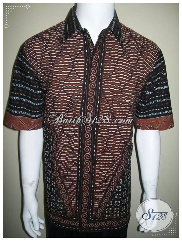 Model Baju Batik Pria Terbaru Trend Batik Tulis Terkini Ld200t Xl