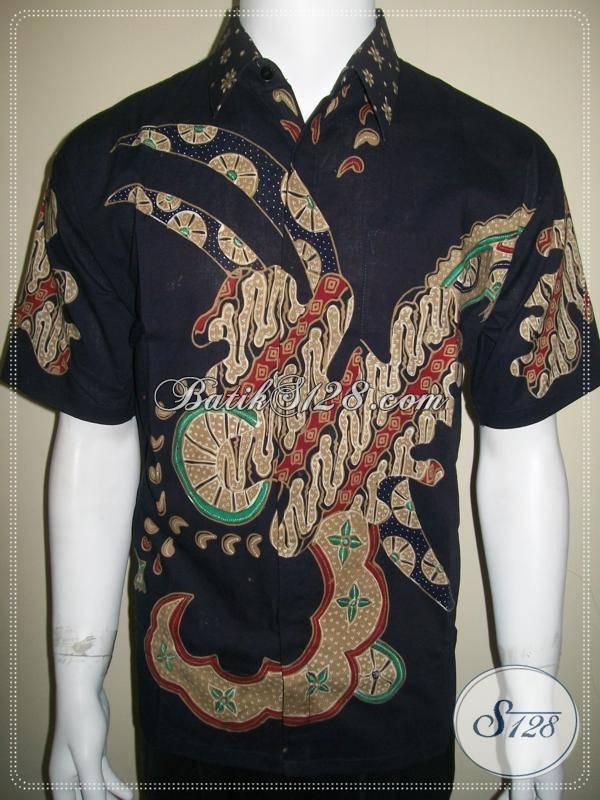 Baju Batik Tulis Pria Modern 2013