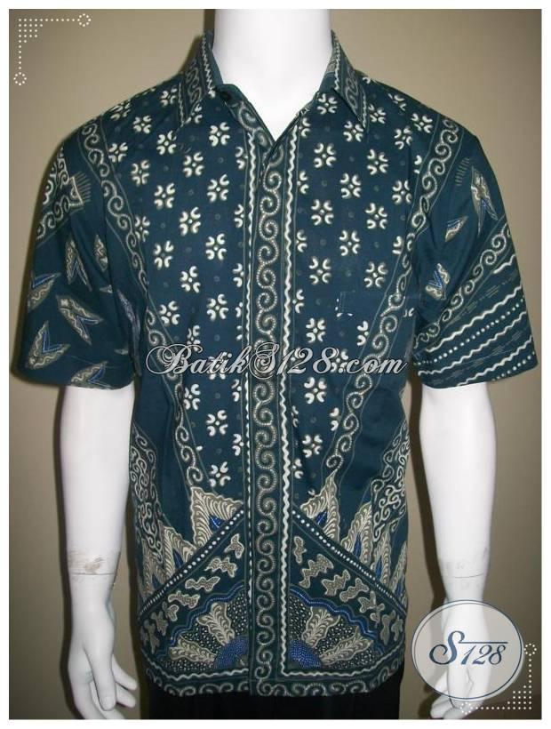 Baju Batik Lelaki 2013, Motif Depan Dan Belakang Berbeda