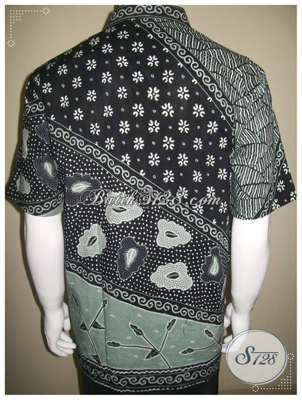 2013 Baju Batik Pria Model Terbaru, Batik Tulis Mewah Mahal [LD233T-L]