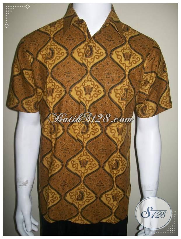 Jual Baju Batik Lengan Pendek Pria Harga Murah Asli Solo Online