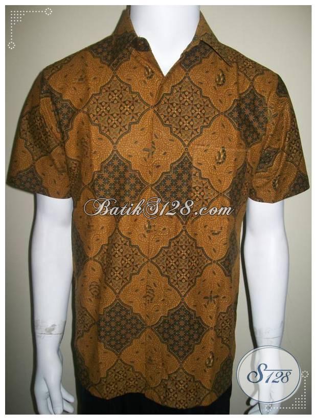 Hem Batik Lengan Pendek, Motif Klasik Lawasan, Murah Kualitas Bagus