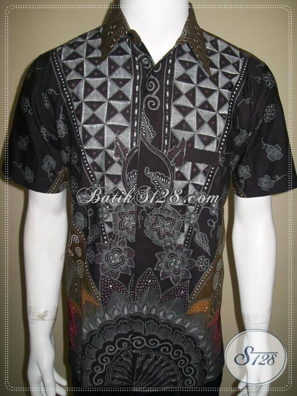 Baju Batik Pria Gaul Kemeja Batik Tulis Pengusaha Anak