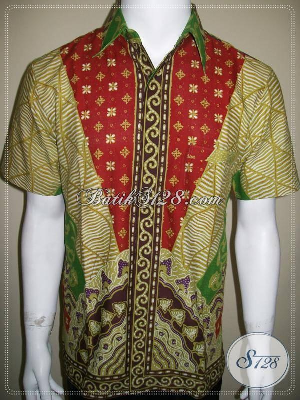 Model Baju Batik Remaja Kemeja Batik Anak Muda Cowok