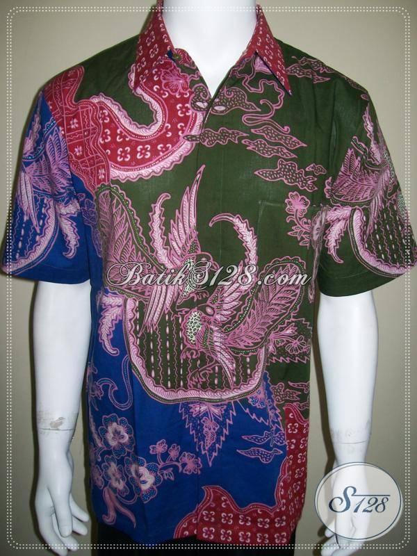 Model Baju Kerja Pria, Batik Tulis Pria, Pakaian Batik Terbaru [LD262T-L]