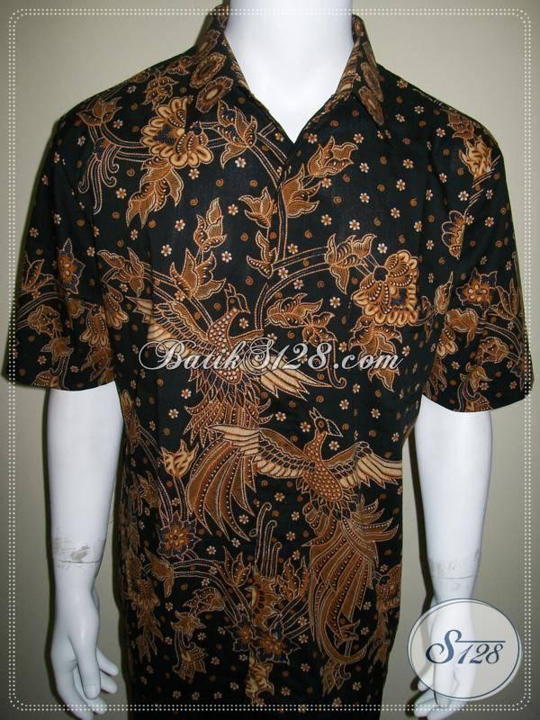 Baju Batik Elegan Semi Tulis Full Granit Motif, Untuk Eksekutif Muda Indonesia [LD299T-XL]