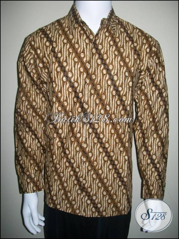 ... Baju Batik Lengan Panjang Lereng 3a8be25d77
