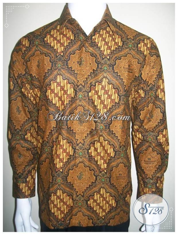 Kemeja Batik Lengan Panjang, Harga Hem Batik Pria Terjangkau [LP226PC-M]