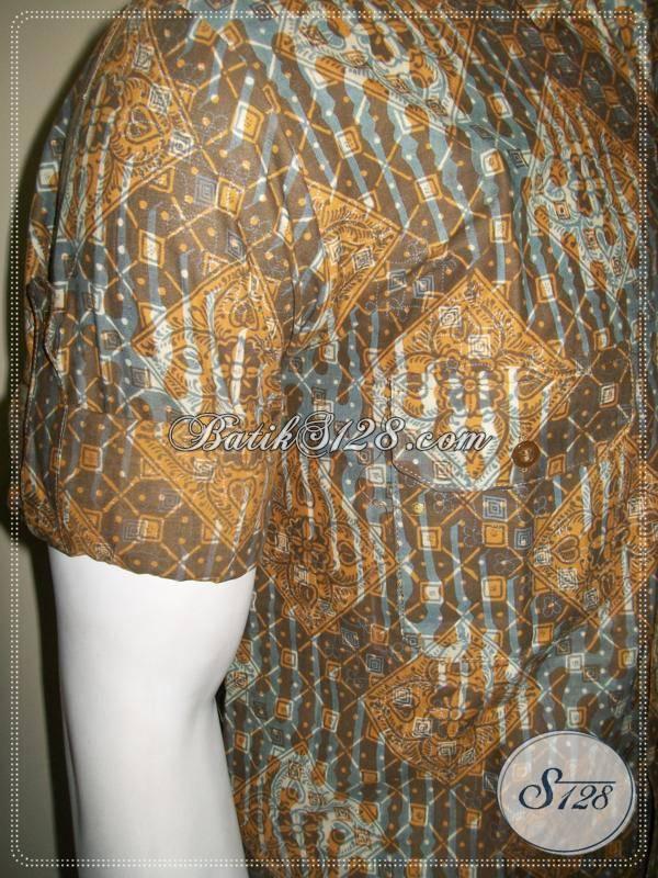 Kemeja Batik Tangan Panjang Lengan Lipat, Batik Anak Muda Modern