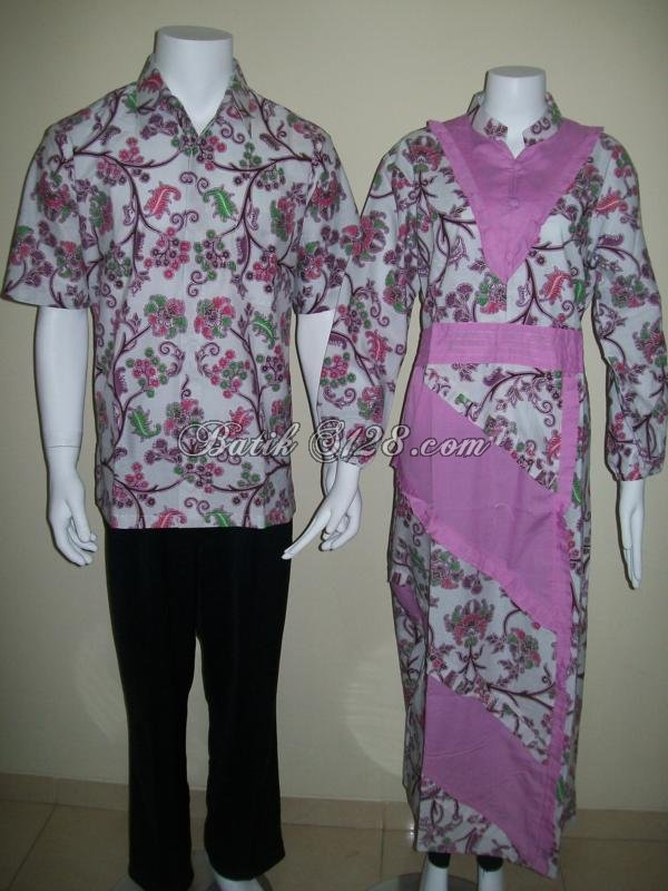 Contoh model batik sarimbit couple