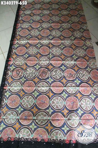 Koleksi Terbaru Batik Kain Solo Premium Motif Mewah Dan Bagus, Batik Tulis Istimewa Bahan Busana Berkelas Untuk Wanita Atau Pria Hanya 650K [K3402T-240x110cm]