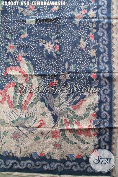 Kain Batik Tulis Mewah Produk Terbaru Khas Solo Jawa Tengah, Hadir Dengan Motif Burung Cendrawasih Warna Bagus, Pas Banget Untuk Baju Kerja Dan Kondangan [K3404T-240x110cm]