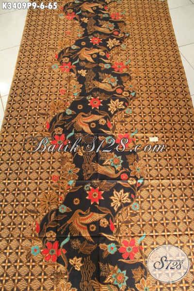 Kain Batik Printing Motif Klasik Mewah Dan Elegan, Batik Solo Murmer Kwalitas Istimewa, Cocok Banget Untuk Busana Formal Nan Berkelas [K3409P-200x110cm]