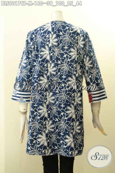 Busana Batik Wanita Kombinasi, Pakaian Batik Atasan Untuk ...