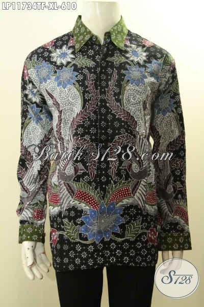 Baju Batik Istimewa Lengan Panjang Full Furing Nan Berkelas, Pakaian Batik Mewah Tulis Asli Motif Terkini Untuk Kerja Dan Acara Berkelas Tampil Percaya Diri