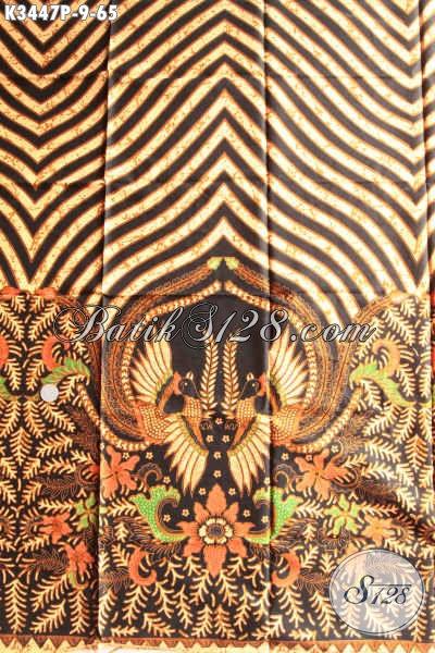 Kain Batik Motif Elegan Klasik, Batik Kain Printing Solo Jawa Tengah Nan Istimewa Bahan Pakaian Santai Dan Resmi Kwalitas Istimewa Hanya 65K [K3447P-200x110cm]