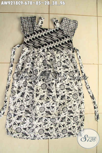 Jual Online Baju Batik Anak Perempuan Desain Kekinian ...