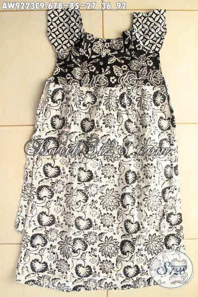 Jual Busana Batik Untuk Anak Perempuan Model Paling Baru, Hadir Dengan Motif Trendy Bahan Halus Yang Nyaman Di Pakai [AW9223C-Umur 6,7,8 Tahun]