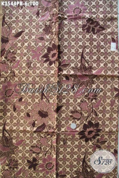 Kain Bbatik Solo Terbaru Bahan Kemeja Pria, Batik Jenis Printing Cabut Motif Bagus Kwalitas Istimewa, Cocok Juga Untuk Pakaian Wanita [K3544PB-240x110cm]