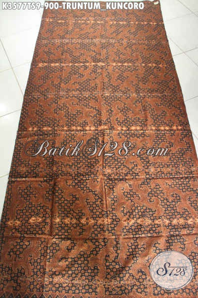 Bahan Kain Batik Motif Klasik Truntum Kuncoro Khas Solo, Batik Premium Untuk Busana Formal Nan Berkelas [K3577TS-240x105cm]
