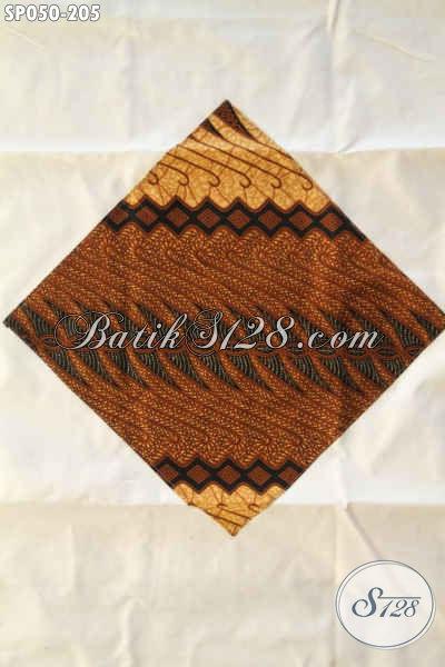 Produk Sprei Batik Khas Jawa Tengah Yang Banyak Di Sukai, Berbahan Halus Berpadu Motif Klasik Nan Elegan Serta Di Lengkapi Sarung Bantal Maupun Guling [SP050-180x200cm]