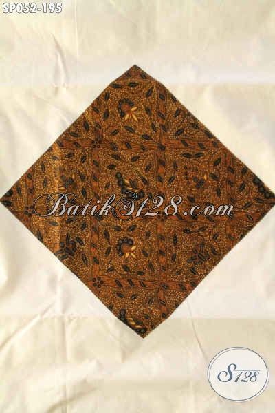 Sprei Batik Halus Khas Solo, Hadir Dengan Motif Elegan Klasik Jenis Printing Bahan Adem Di Lengkapi Sarung Bantal Dan Guling 2 [SP052-160x200cm]
